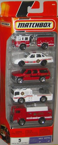 Used, Matchbox 5 Fire Truck Vehicles New for sale  Delivered anywhere in USA