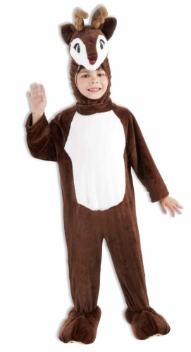 Child Deer Costumes (Forum Novelties Toddler Reindeer Mascot Costume)
