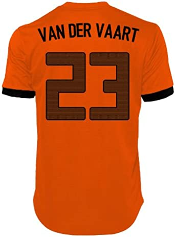 2012 – 13 Holland Euro 2012 casa camiseta de fútbol, Van der Vaart 23: Amazon.es: Deportes y aire libre