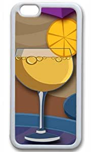 Cocktails Thanksgiving Halloween Masterpiece Limited Design TPU White Case for iphone 6 by Cases & Mousepads
