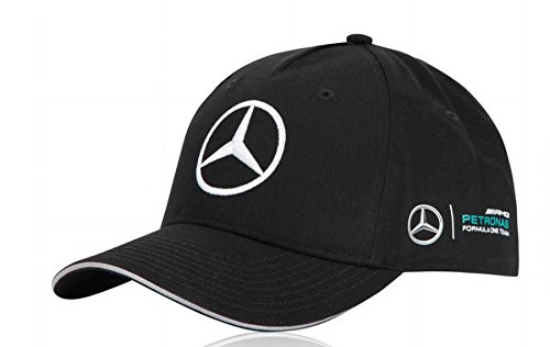 Mercedes Benz Petronas Amg Formula 1 Black Mamgp 2017 Team Hat Cap Adjustable