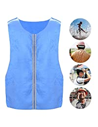 Cooling ice Vest Outdoor Sports Cooling ice Vest Blue