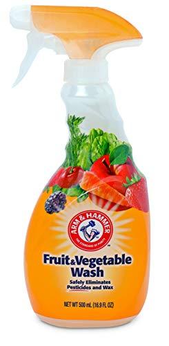Arm & Hammer Fruit & Vegetable Wash, Produce Wash, Produce Cleaner, 16.9oz Spray