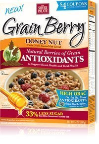 Grain Berry Cereal, HONEY NUT OATS, (The Silver Palate), 12 OZ (Pack of 6)