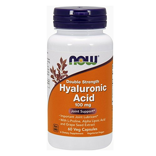 NOW Hyaluronic Acid 100mg Capsules