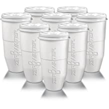 ZeroWater Replacement Filter for Pitchers 8-Pack ZR-008