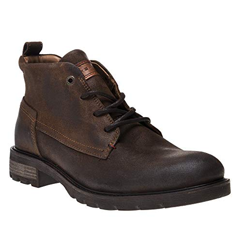Tommy Hilfiger Winter Chukka Mens Boots Tan