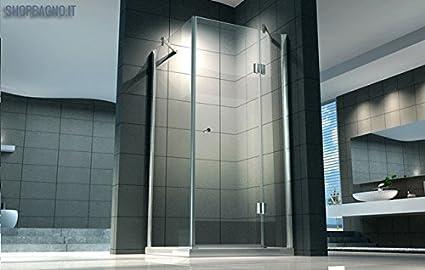 Cabine Doccia Cristallo : Box doccia vetro temperato o cristallo