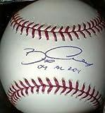 Bobby Crosby Oakland A's 04 Al Roy Signed Oml Baseball - Autographed Baseballs