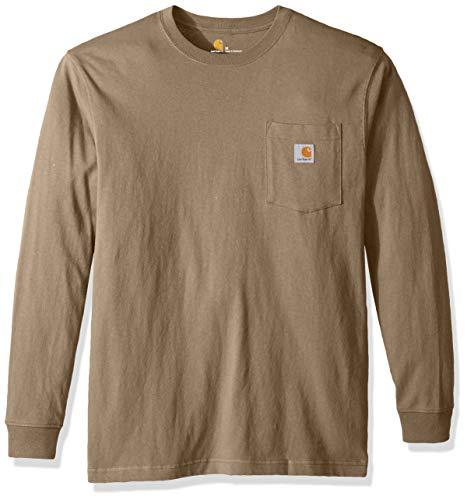 Carhartt Mens Workwear Pocket Long Sleeve T Shirt K126