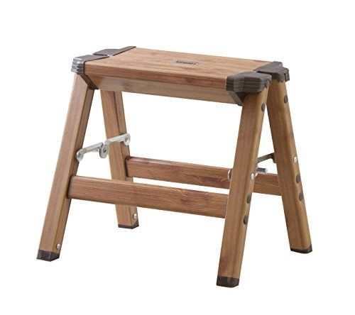 Azumaya 11.5'' Height Folding Step Stool Small Size PC-401 by Azumaya