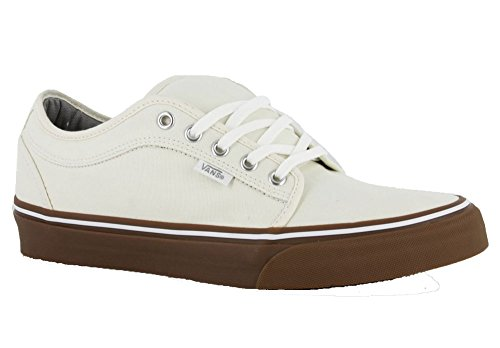 Herren Skateschuh Vans Chukka Low Skate Shoes White/Gum