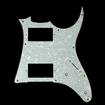 (F02) 4Ply Quality Guitar PickGuard For Ibanez GRX20 Z ,White Pearl