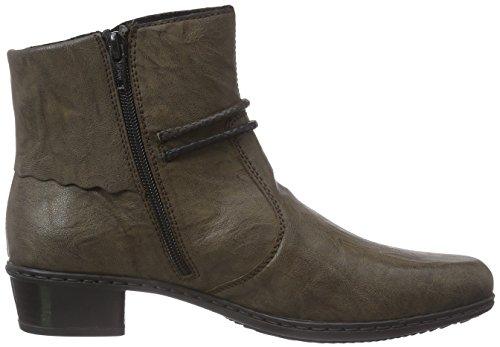 Rieker Y0793 Damen Kurzschaft Stiefel Braun (mud / 25)