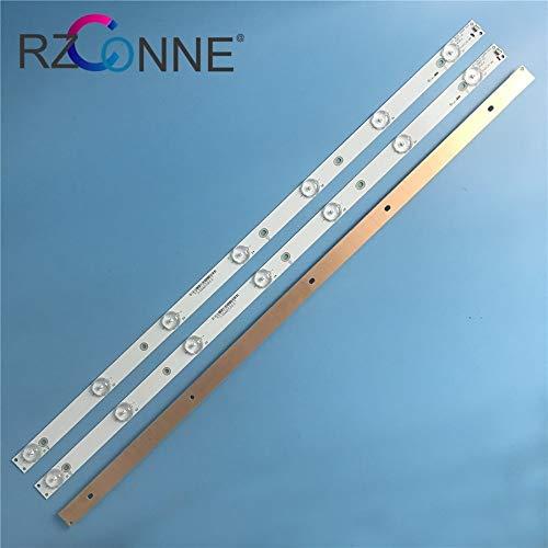 ShineBear 612mm 7 LED Backlight Lamp Strip for Philips 32''TV 32PFT4100 32PHH4100 LB32067 V0_00 TPT315 - (Cable Length: Other)