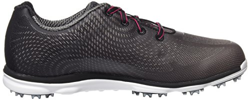 Mujer para Zapatos de Empower Antracita Golf Negro Footjoy THXqF7S