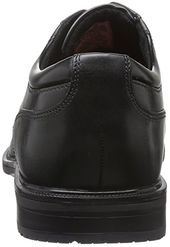 Details Bike II Scarpe Essential Black Toe Nero Rockport Leather Uomo Basse Nero qZSx5