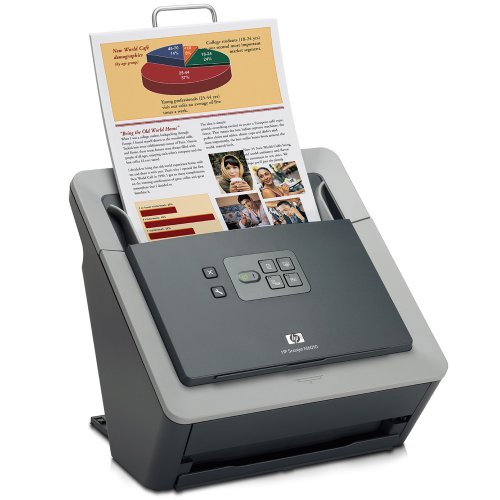 HP Scanjet N6010 Photo Scanner Us Government. Up To 600 Dpi.