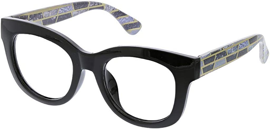 Peepers by PeeperSpecs Women's Center Stage Oversized Reading Glasses