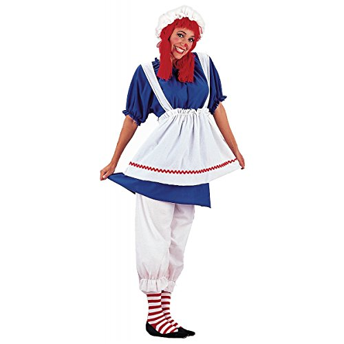 Rag Doll Adult Costume - Plus Size 3X