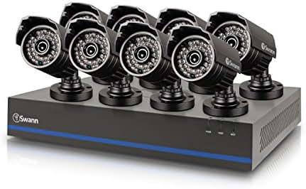 Swann DVR8-8075 - 8 Channel 1080p Digital Video Recorder & 8 x 1080p HD Cameras