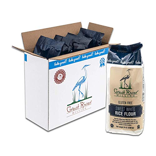 - Great River Milling, Sweet White Rice Flour, Gluten Free, Non-Organic, 24 Ounces (Pack of 4)