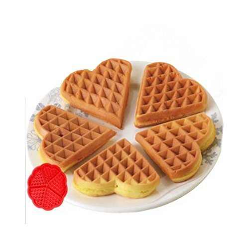 Originally 5 the heart-shaped waffle mold circular nestle cake mould checkered cake mould