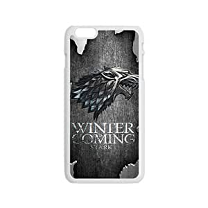 JIANADA Winter coming Eagle map Cell Phone Case for iPhone 6