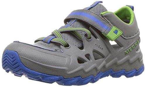 Merrell Kids Hydro 2 0 Sandal  Grey Multi  1 Wide Us Little Kid
