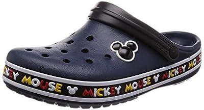 Crocs Men's and Women's Crocband Disney Mickey Mouse III Clog
