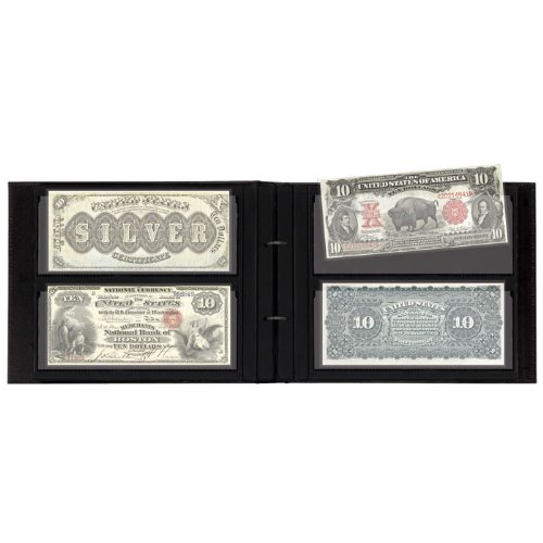 Currency Album for Large Notes