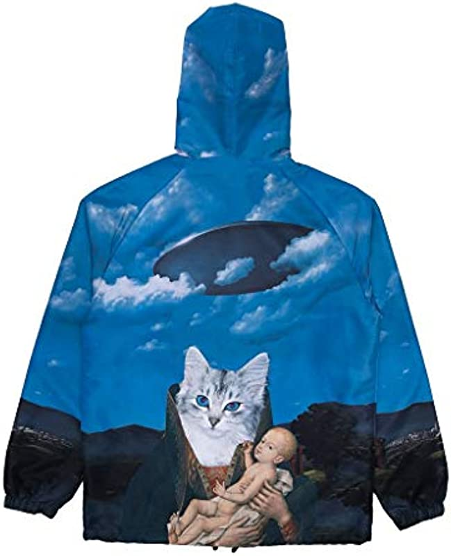 RIPNDIP Leichte Jacke Hold Me Hooded Coaches Jacket Allover-Print Kollektion 2020: Odzież