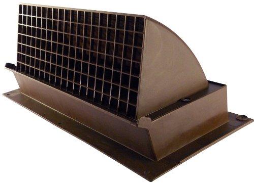Speedi-Products EX-RHVBR 310 3.25-Inch Height by 10-Inch Width Dark Brown Range Heightood Wall Vent - Width Wall Hoods