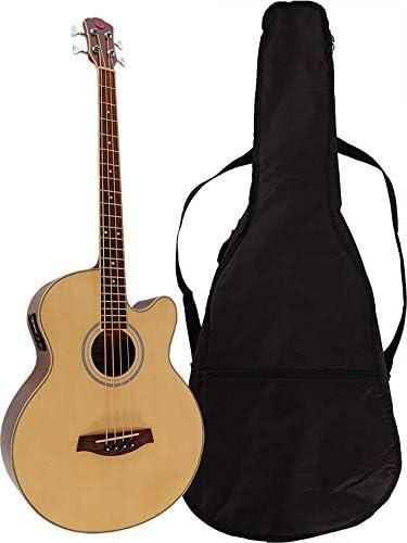 Chateau C08 de nbass4 de N – Guitarra acústica Bass con Pickup ...