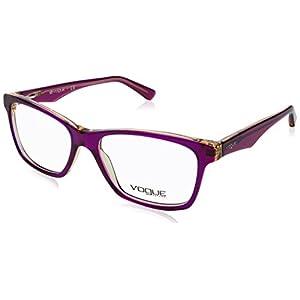 Vogue VO2787 Eyeglass Frames 2268-53 - Top Tr Violet/Tr Yello VO2787-2268-53