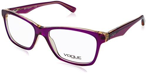 Vogue VO2787 Eyeglass Frames 2268-53 - Top Tr Violet/Tr Yello - Glasses Vogue