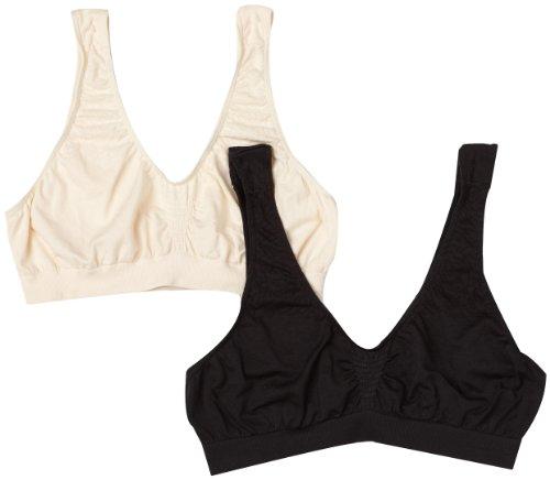 - Bali Women's 2-Pack Microfiber Crop Top,N5W,Medium