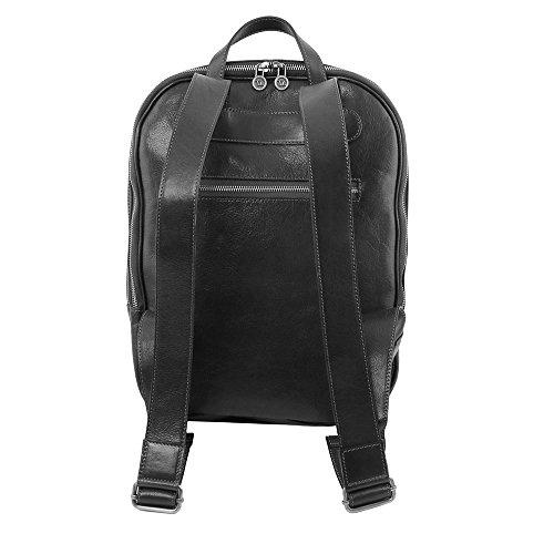 Tuscany Leather - Osaka - Sac à dos en cuir porte ordinateur - Miel