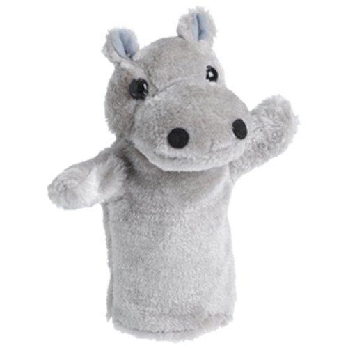 Wild Animal Plush Puppet - Hippo Puppet