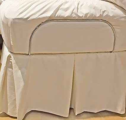 Amazon Com Bedskirts For Split King Adjustable Bed Systems White