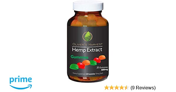 Amazon.com: Olivers Harvest 400mg Hemp Extract Gummies: Health & Personal Care