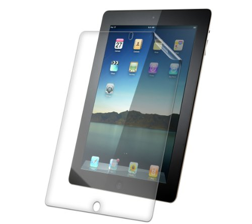 ZAGG InvisibleShield Smudge Proof Screen Protector for Apple iPad 2 / iPad 3 / iPad 4 (Ipad 2 Screen Protector Zagg)