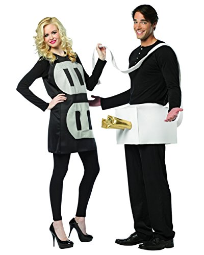 [Plus Size Theatre Costumes Couples Costume Plug and Socket Funny Costumes Sizes: One Size] (Halloween Ideas For Couples)