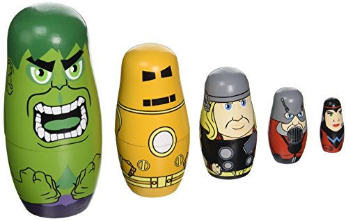Avengers Founding Avengers Nesting Doll Set by PPWToys (Image #1)