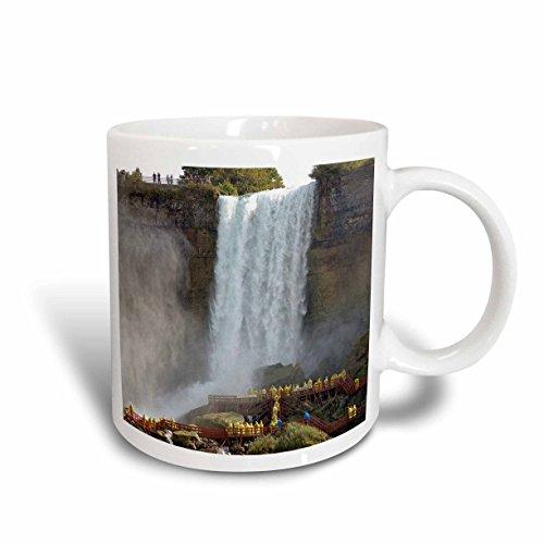 3dRose Danita Delimont - Waterfalls - Canada, Ontario, Niagara Falls. Walking the falls -CN08 LSE0002 - Lynn Seldon - 11oz Mug - Niagara One Canada Outlets