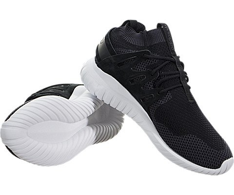 Adidas-Mens-Tubular-Nova-Pk-CblackDkgreyVinwht-Running-Shoe-105-Men-US