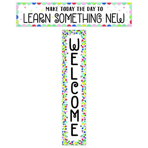 Creative Teaching Press Color Pop Welcome Banner (2-sided), CTP 8669 ()