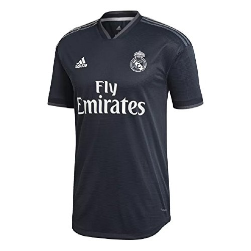adidas 2018-2019 Real Madrid Away Authentic Jersey- Tech Onix L