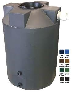 100 Gallon Rain Harvest Collection Tank, Gray
