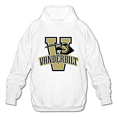 Wesley Vanderbilt University Men's Fashion Hoodie White